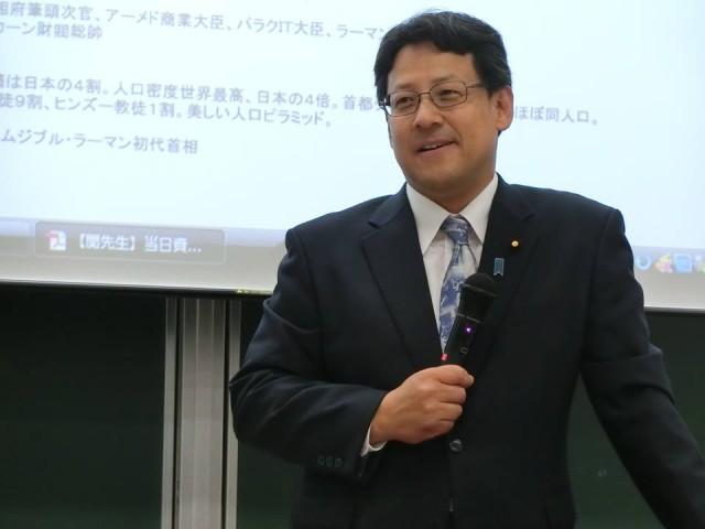 神戸大学で講義を行いました。