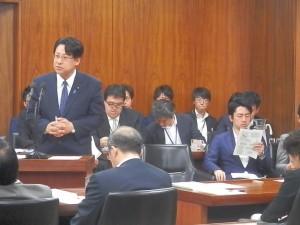 本日の経済産業委員会にて答弁に立ちました。