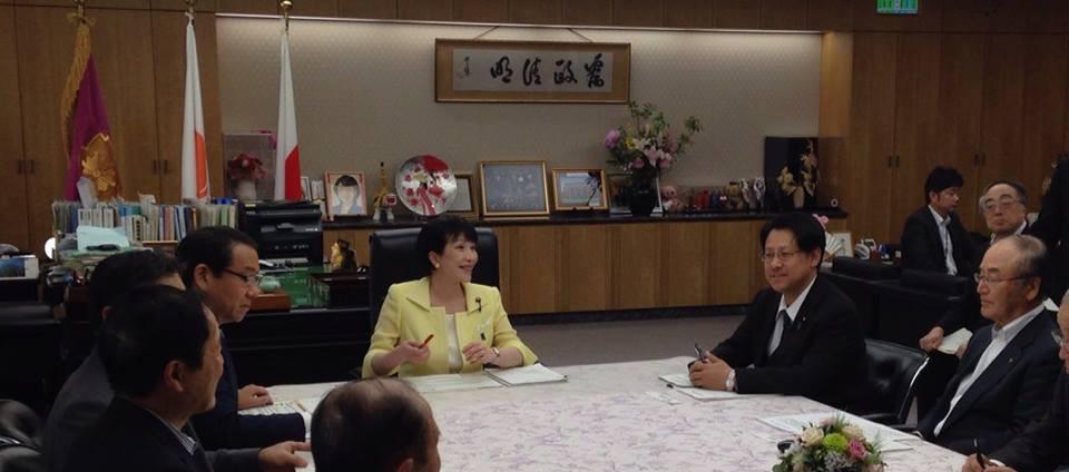 地方創生の経済政策会議に参加しました。