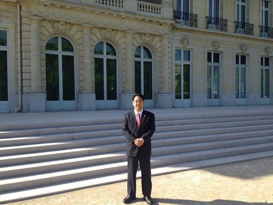 WTO関連で政府代表として会談に臨みます。