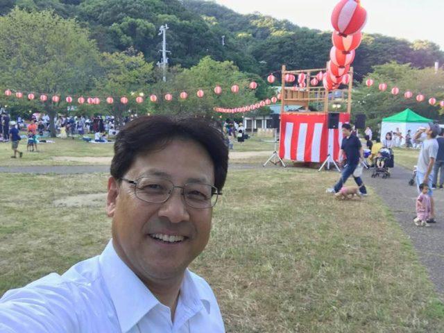 須磨寺横の公園は自然が満載です。