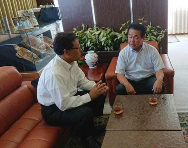 神戸市漁業協同組合で対応策を打ち合わせ致しました。