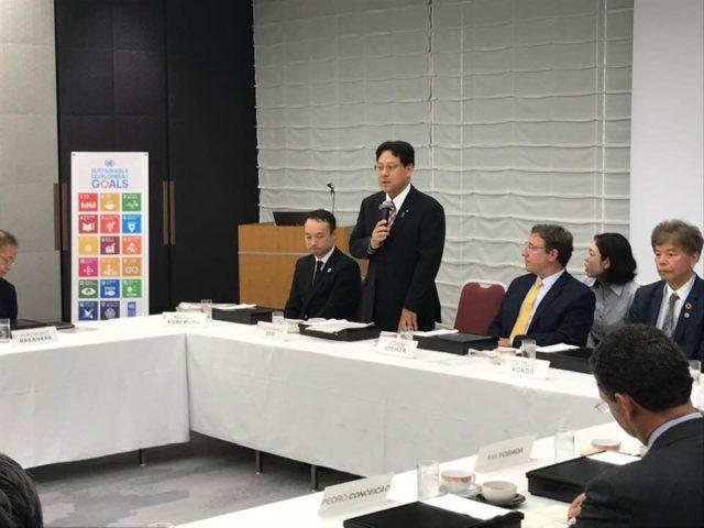 UNDPのシュタイナー総裁が日本にお越しになりました。