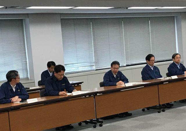 緊急災害対策本部会議が開かれました。