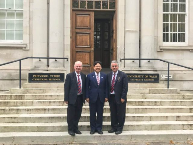 母校のイギリス国立ウェールズ大学経営大学院を訪問しました。
