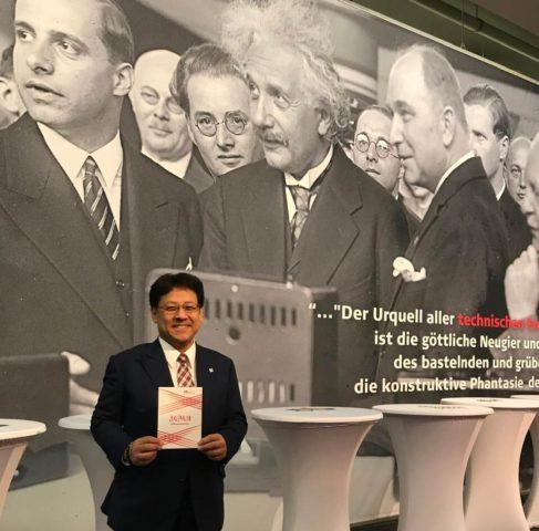 IFA(消費者向け電気製品博覧会)に来ました。