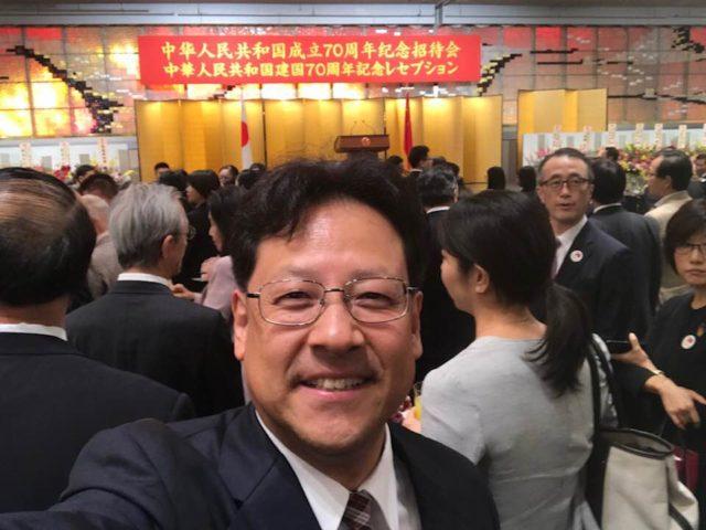 中華人民共和国 成立70周年記念式典です。