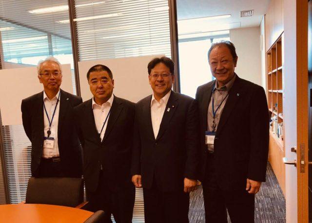 兵庫県 漁連の会長はじめ役員の皆様が、私の国会事務所にお越しくださいました。
