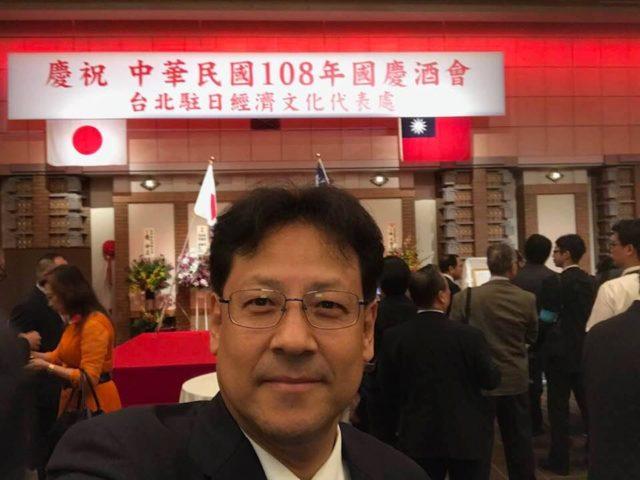 台北駐日経済文化代表処さんのお祝いに東京帝国ホテルに参りました。