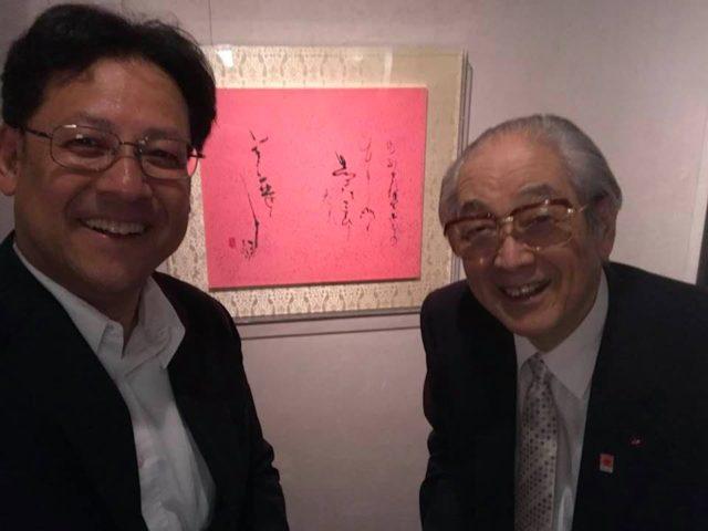 井茂先生が、銀座の和光で初めての展示会をご開催されました。