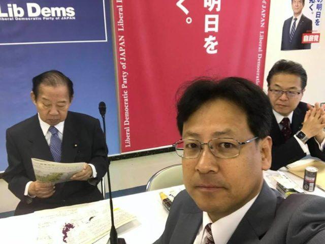 自民党本部で台風19号対策が開かれました。