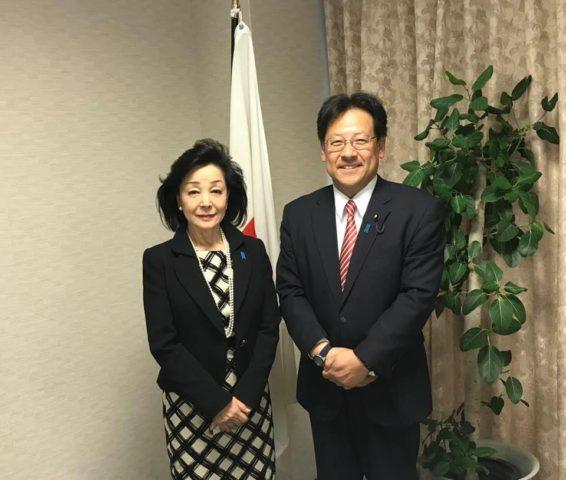 櫻井よしこさんがエネルギー問題に関して講演下さいました。