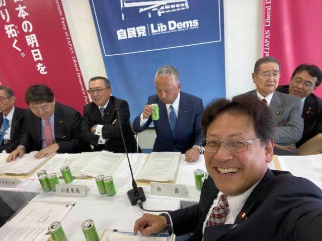自民党本部の来年度税制調査会が始まりました。