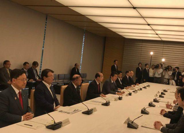 第一回海洋プラスチックゴミ対策推進関係閣僚会議に参加しました。