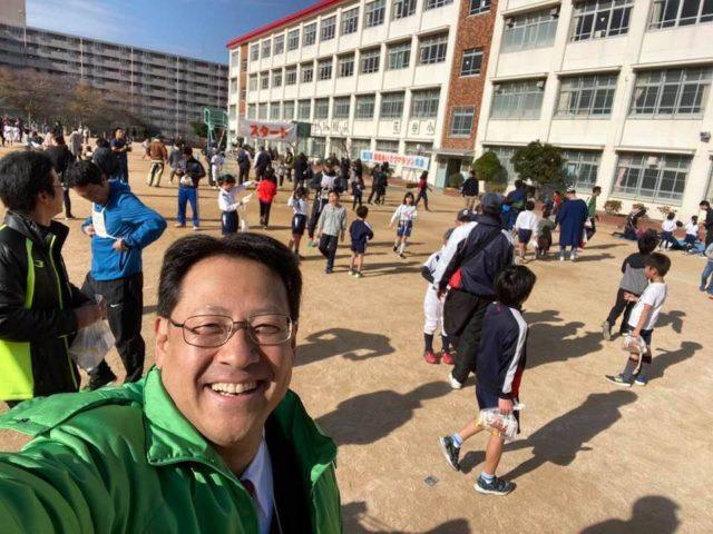 花谷のマラソン大会‼️
