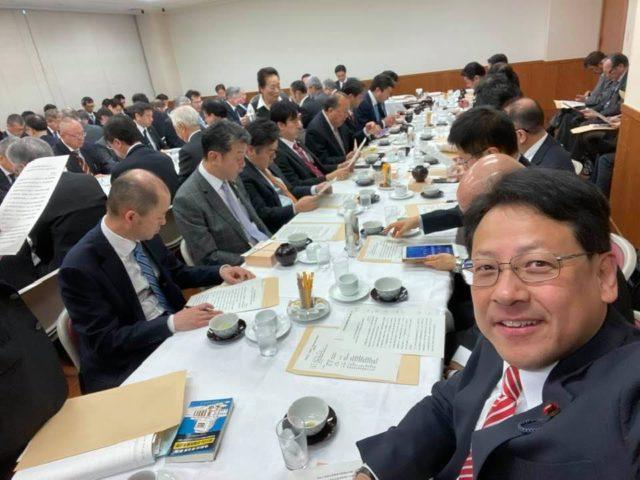 自民党本部の水産部会に出席しました。