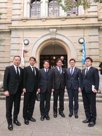 阪神淡路大震災 25 年追悼式典に参加しました。