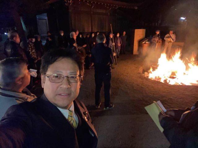 舞子六神社で追儺式⛩
