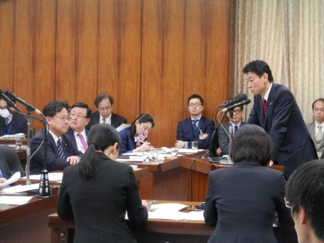 新型コロナに関する法案が衆議院の委員会を通過しました。