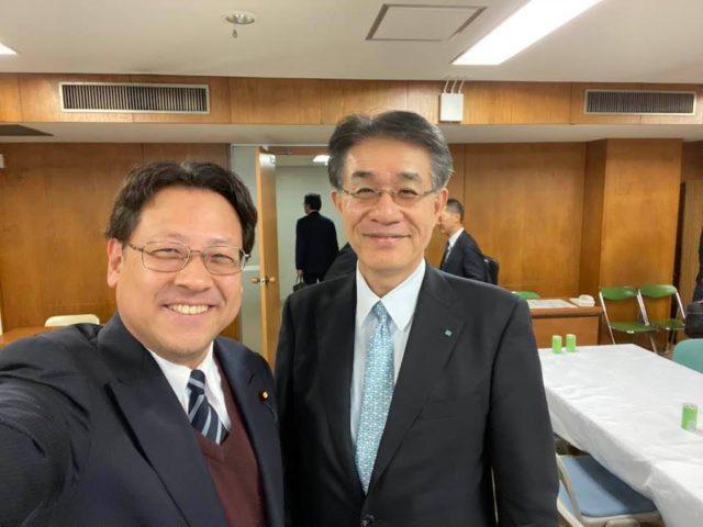 日本ATM株式会社の中野裕社長がプレゼンテーションをしてくださいました。