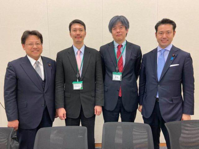 量子技術推進議員連盟の勉強会に参加しました。