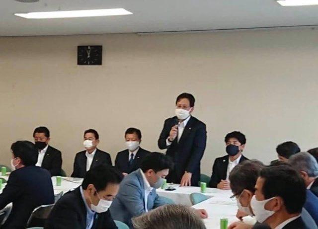 党本部で打合会を行いました。