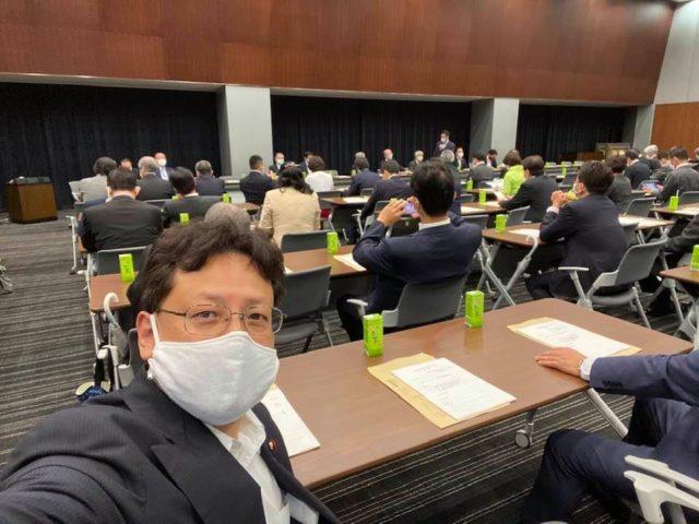 国民歯科問題議員連盟会議に参加致しました。