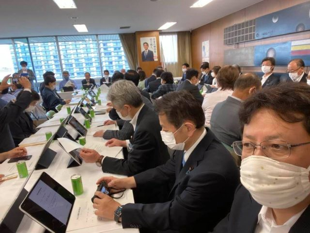 九州の大雨災害の対策本部会議に参加しました。