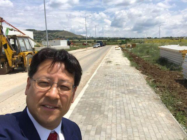 北マケドニア共和国の技術産業開発区を視察しました。