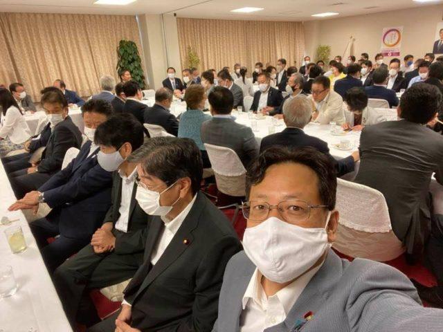 清和政策研究会の総会が開かれました。