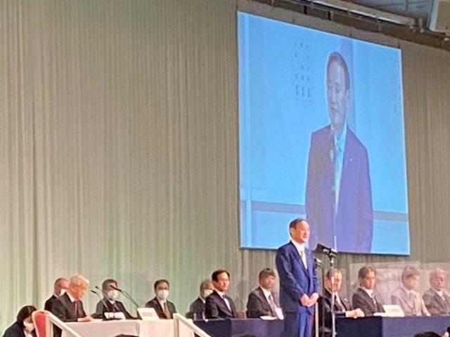 菅義偉自民党総裁が誕生致しました。