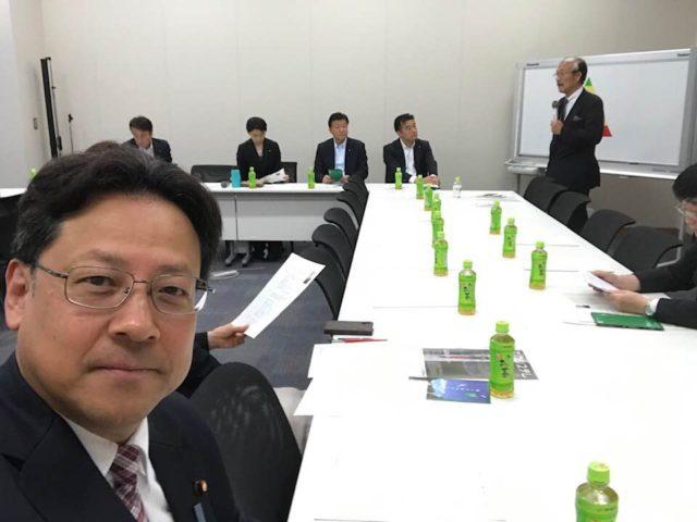 日本の生態系を取り戻す国会議員連盟のお世話役になりました。