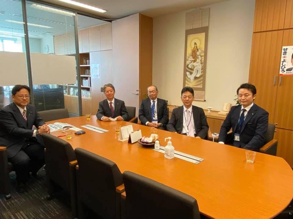 川崎重工業株式会社の方々がお越し下さいました。