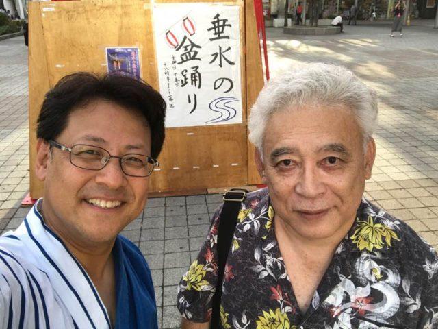 地元の盆踊りは日本の誇りです。