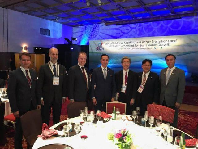 G20サミット 軽井沢、エネルギー・環境大臣サミット懇親会に参加しました。
