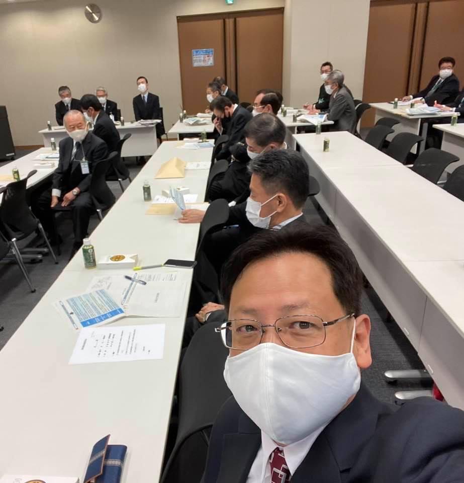 国会で『消防団員の処遇改善会議』に出席しました。