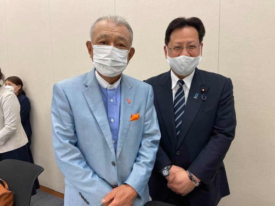日本財団の笹川陽平会長にお話を聞かせて頂きました。