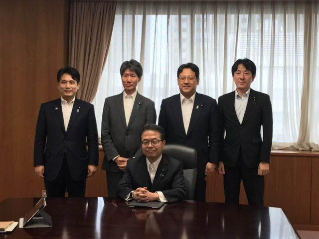 経済産業省の幹部会が開かれました。
