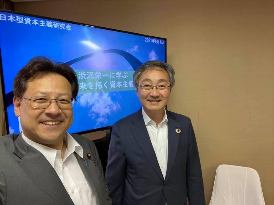 NHKで大人気の「渋澤栄一翁」の『青天を衝け』‼️