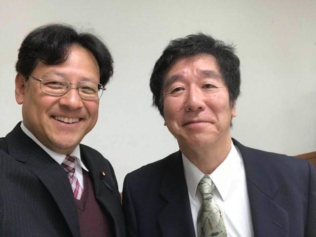 奈良県立医科大学の細井裕司博士👨🎓にお会いできました。
