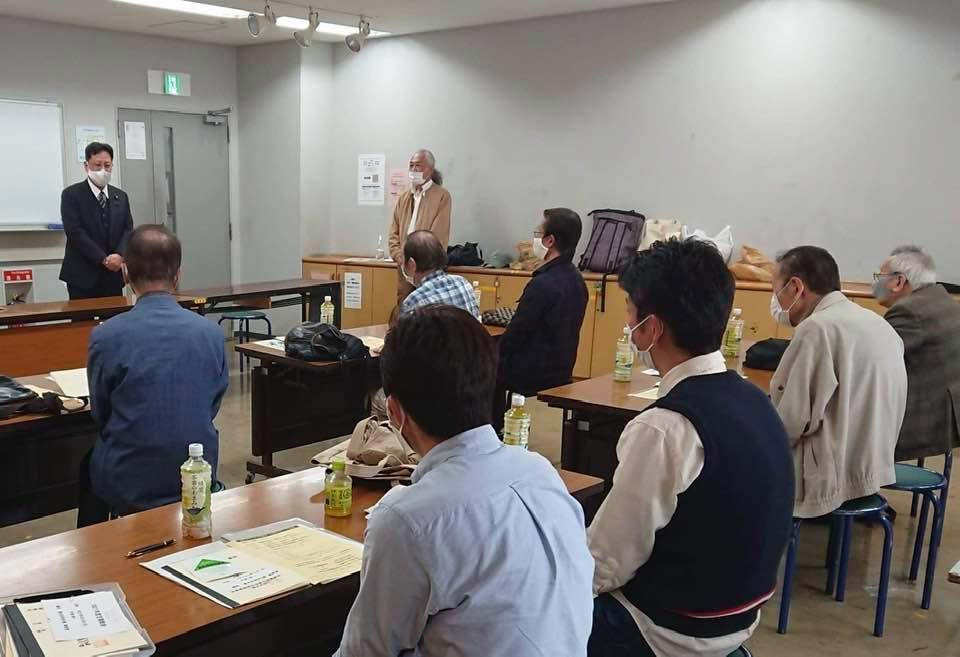 垂水区・須磨区の理容組合の総会に参加しました。