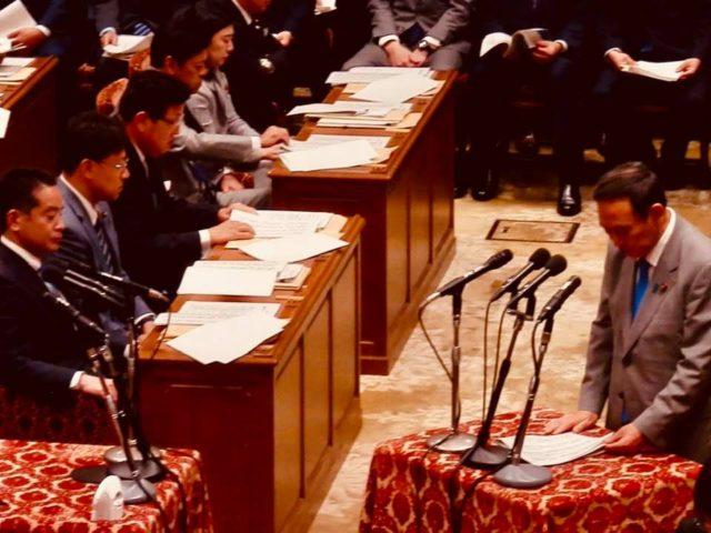 内閣委員会の理事として、今国会に臨みます。