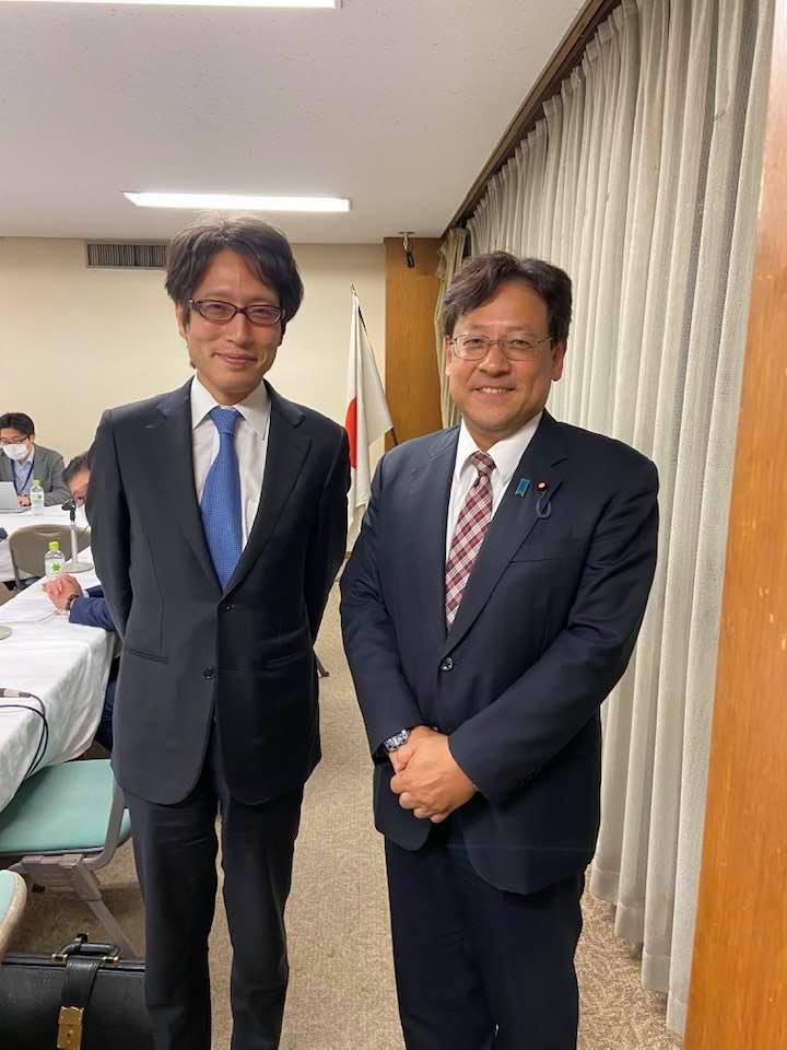 竹田恒泰さんにお会いしました。