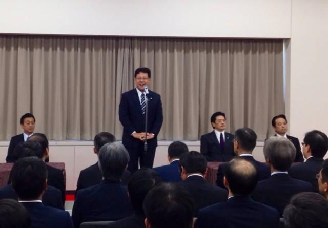 経済産業大臣政務官の職を引き継ぎました。