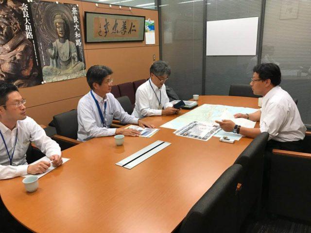 神戸市みなと総局の皆様がお越しくださいました。